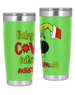 Assistant Principal, Baby Covid Outside Stainless Steel Tumbler, Tumbler Cups For Coffee/Tea