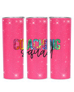 Coaching Squad Stainless Steel Tumbler, Tumbler Cups For Coffee/Tea