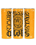 Owls Stainless Steel Tumbler, Tumbler Cups For Coffee/Tea