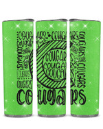 Cougars Stainless Steel Tumbler, Tumbler Cups For Coffee/Tea