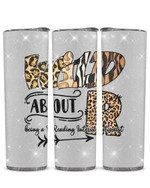 Wild About Being A Reading Interventionist Stainless Steel Tumbler, Tumbler Cups For Coffee/Tea