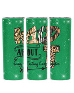 Wild About Being A Testing Coordinator Stainless Steel Tumbler, Tumbler Cups For Coffee/Tea