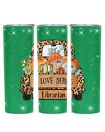 I Love Being Librarian Cute Car Stainless Steel Tumbler, Tumbler Cups For Coffee/Tea