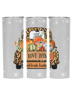 I Love Being 2nd Grade Teacher Cute Car Stainless Steel Tumbler, Tumbler Cups For Coffee/Tea