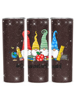 Gnomes Counselor Squad Stainless Steel Tumbler, Tumbler Cups For Coffee/Tea