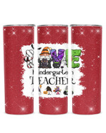Gnomes Love Being Called Kindergarten Teacher Stainless Steel Tumbler, Tumbler Cups For Coffee/Tea