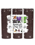 Gnomes Love Being Called Assistant Principal Stainless Steel Tumbler, Tumbler Cups For Coffee/Tea