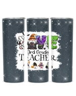 Love Being Called 3rd Grade Teacher Gnomes Stainless Steel Tumbler, Tumbler Cups For Coffee/Tea
