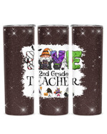 Love Being Called 2nd Grade Teacher Gnomes Stainless Steel Tumbler, Tumbler Cups For Coffee/Tea