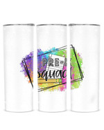 Pre-K Squad Stainless Steel Tumbler, Tumbler Cups For Coffee/Tea