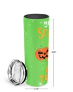You Can't Scare Me I'm A Pre-K Teacher Stainless Steel Tumbler, Tumbler Cups For Coffee/Tea