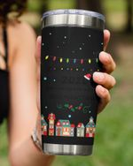 Personalized Custom Date, Christmas The One We Were Quarantined Stainless Steel Tumbler Cup For Coffee/Tea