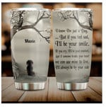 Personalized Memorial Dachshund Dog In Heaven Gift 20oz Stainless Steel Tumbler