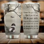 Personalized Memorial Shih Tzu Dog In Heaven Gift 20oz Stainless Steel Tumbler