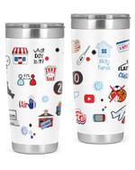 Covid Epedemic, What Day Is This, Closed Stainless Steel Tumbler, Tumbler Cups For Coffee/Tea