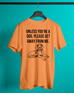 Unless You Are A Vizsla, Please Get Ây From Me Short-Sleeves Tshirt, Pullover Hoodie, Great Gift For Thanksgiving Birthday Christmas