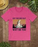 Retro Navy Eff You See Kay Unicorn Short-Sleeves Tshirt, Pullover Hoodie, Great Gift For Thanksgiving Birthday Christmas
