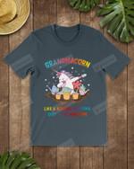 Unicorn Grandmacorn Gardening Short-Sleeves Tshirt, Pullover Hoodie, Great Gift For Thanksgiving Birthday Christmas