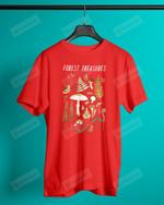 Forest Treasure Mushroom Short-Sleeves Tshirt, Pullover Hoodie, Great Gift For Thanksgiving Birthday Christmas