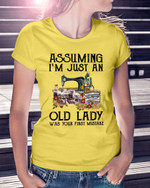 Quilting I'm Just An Old Lady Short-Sleeves Tshirt, Pullover Hoodie, Great Gift For Thanksgiving Birthday Christmas