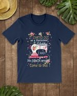It Started Out As A Harmless Hobby Quilting Short-Sleeves Tshirt, Pullover Hoodie, Great Gift For Thanksgiving Birthday Christmas