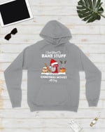 I Just Want To Bake Stuff Baking Snow Short-Sleeves Tshirt, Pullover Hoodie, Great Gift For Thanksgiving Birthday Christmas