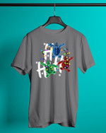 Ho Ho Ho Turtle Short-Sleeves Tshirt, Pullover Hoodie, Great Gift For Thanksgiving Birthday Christmas