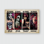 Inspiration Lady Posters / Puzzles For Skull Lovers