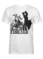 Ride With Me Forever Couple Racing Riders And Racers Shirts / Mugs / Totes / Hand Bags