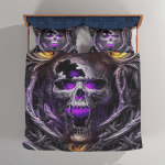 Skull Bedding sets / Quilts / Blankets / Tumblers For Skull Lovers