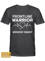 Personalized Shirts Hoodies Cups For Nurses Frontline Warrior