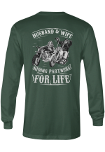 Motorbikes Motorcycles Bikers Husband Wife Couples Shirts Hoodies Totes Mugs Cups