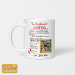 Personalized Image And Title I Love You Couple Shirts / Mugs / Totes/ Hands Bag