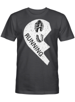 Running Partners Couple Valentine Shirts / Mugs / Totes / Hand Bags