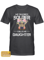 Personalized (Maximum 9 letters) Favorite Soldier Shirts Hoodies Cups Mugs Hand Bags Totes Army