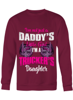 Shirts Hoodies Cups Mugs For Truckers Life Trucker's Daughter Girl