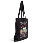 A Girl Who Really Loved Books And Cats Shirts / Mugs / Totes / Hand Bags