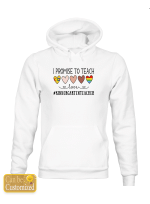 Personalized Job Title I Promise To Teach Love Teacher Life Shirts / Mugs / Totes / Hand bags