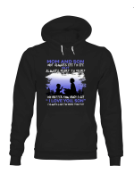 Mom And Son Always Heart To Heart Shirts Hoodies Cups Mugs Totes Bags