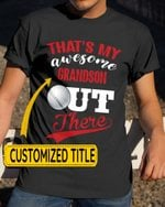 Personalized That's My Awesome Kids Out There Golf Sports - Grandsons Granddaughters Grandkids Shirts / Hoodies / Mugs / Cups / Totes / Hand Bags