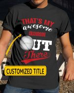Personalized That's My Awesome Kids Out There Lacrosse Sports - Grandsons Granddaughters Grandkids Shirts / Hoodies / Mugs / Cups / Totes / Hand Bags