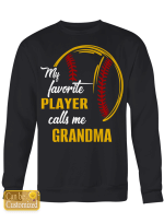 My Favorite Players Call Me - Softball Sports - Grandma Grandpa Daddy Mommy Brother Sister - Family Sports Shirts / Hoodies / Mugs / Cups / Totes / Hand Bags