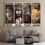 Jesus Canvas Puzzles Posters Quilts Blankets Christ Christian