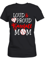 Personalized Loud Proud Baseball Sports Mom Shirts / Hoodies / Mugs / Cups / Totes / Hand Bags Mother Day Gifts