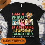 Personalized Image I'm A Proud Mom - Mother Day Gifts Stickers Shirts Hoodies Cups Mugs Totes Handbags