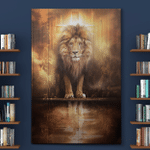 Jesus Lion Lamp God Canvases Pictures Posters Puzzles Blankets Quilts Shower Curtains Christ Christian