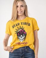 Dead Tired Skull Mom - Mother Day Gifts Stickers Shirts Hoodies Cups Mugs Totes Handbags