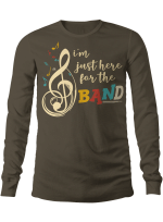 I'm Just Here For The Band Guitar Drum Vinyl Stickers Shirts Hoodies Cups Mugs Totes Handbags