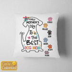 Personalized Dog Mom - Happy Mother's Day Pillows Stickers Shirts Hoodies Cups Mugs Totes Handbags