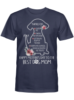 Best Dog Mom Happy Mother's Day Stickers Shirts Hoodies Cups Mugs Totes Handbags